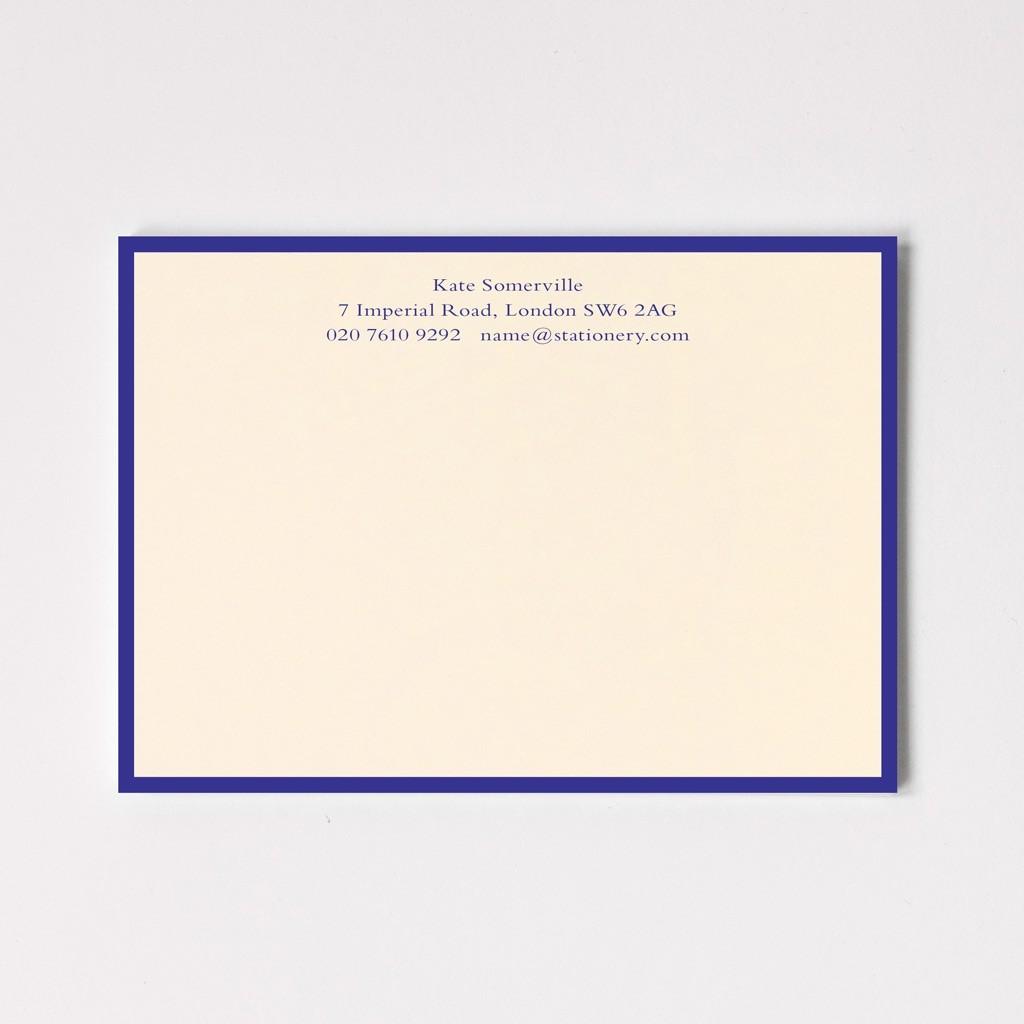A6 Classic Border Correspondence Cards