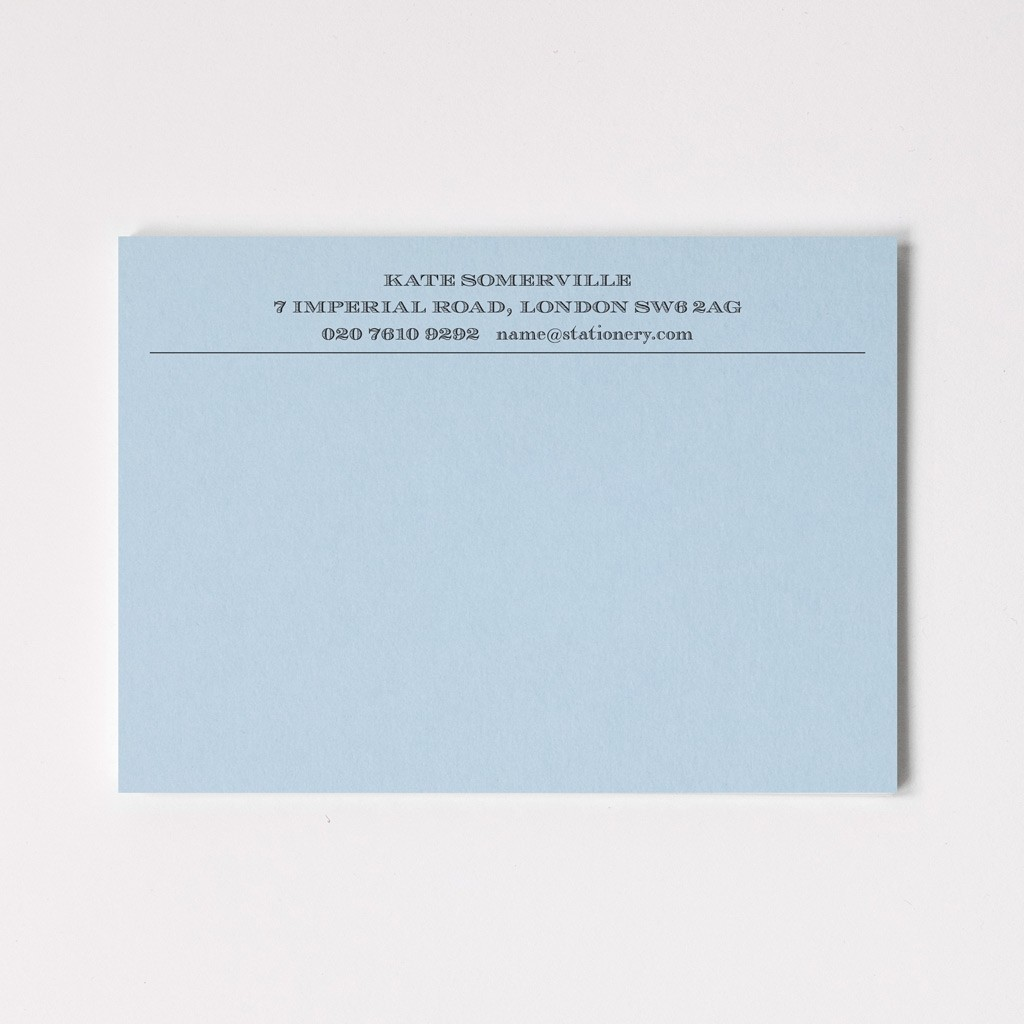 A6 Premium Correspondence Cards