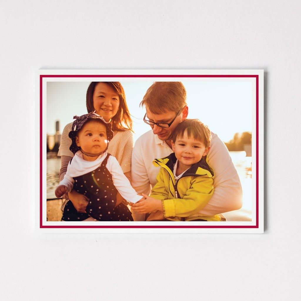 Border Photo Postcards - we print your photo