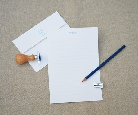 Children's Writing Paper with Lines