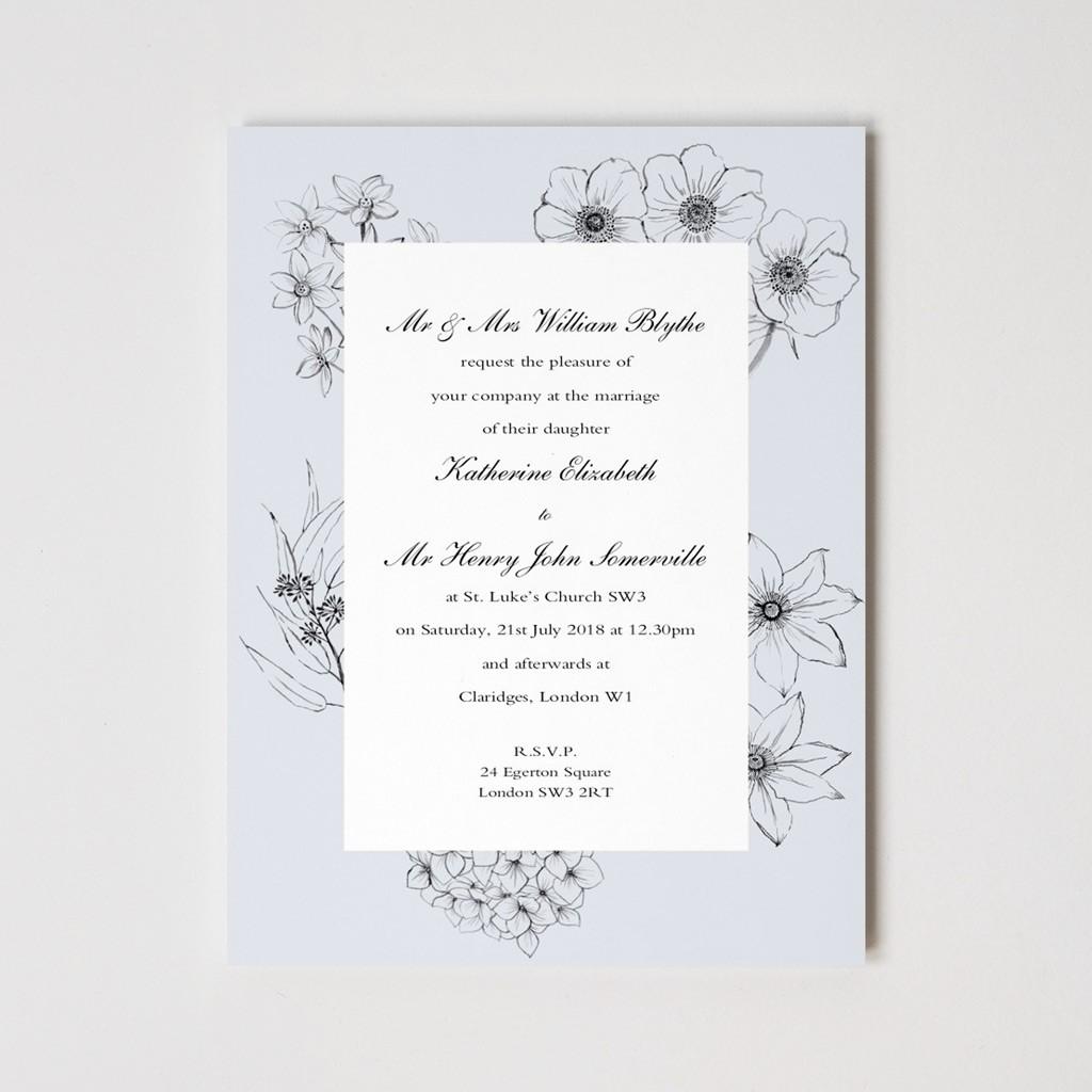 Cottage Garden Invitations