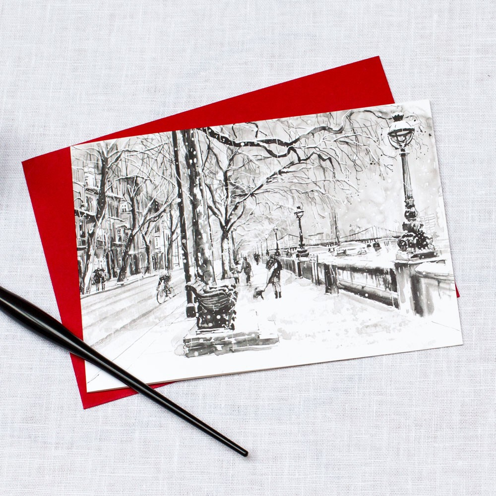 Royal Chelsea Hospital, Home of the Chelsea Pensioner - Christmas Card