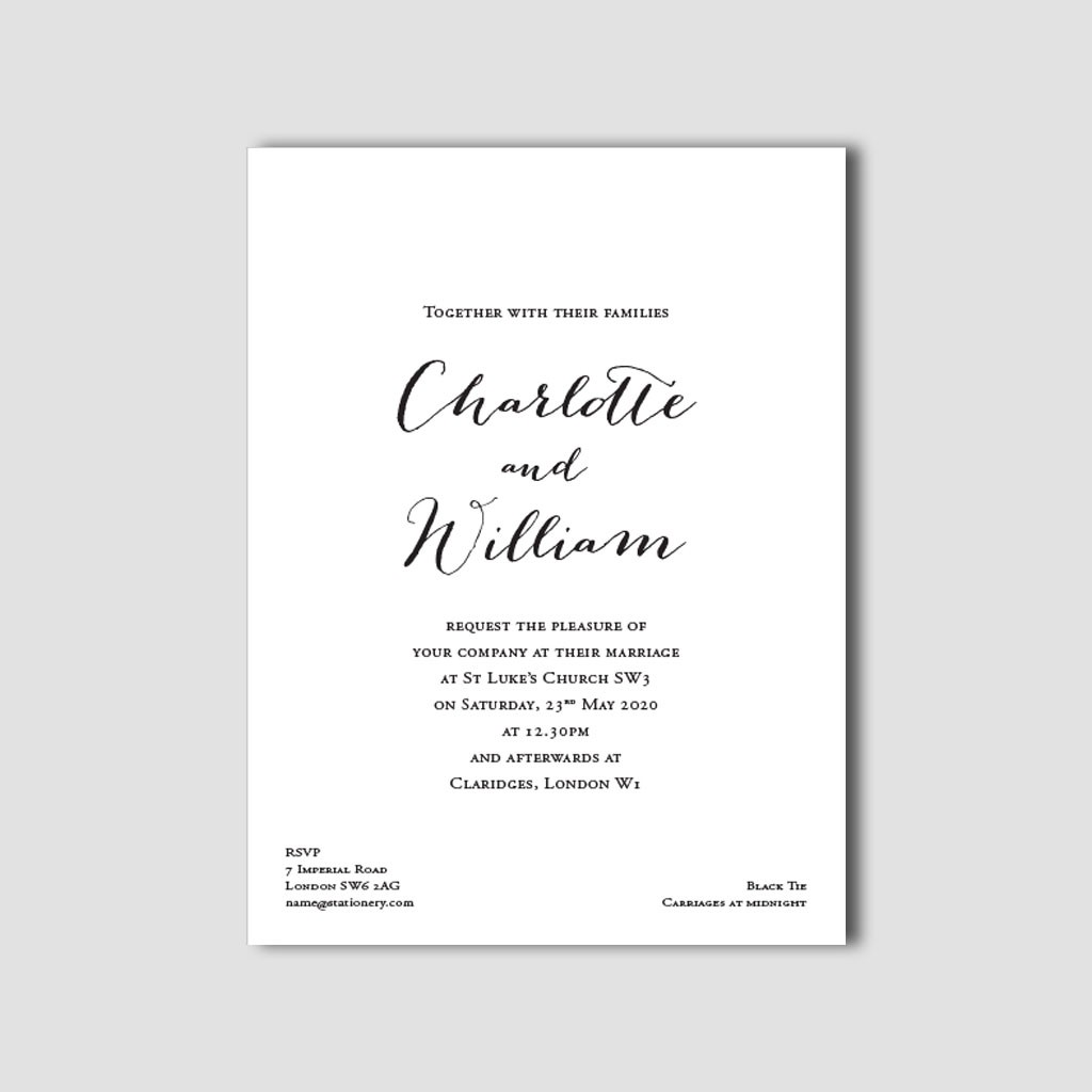 Lottie Wedding Invitations
