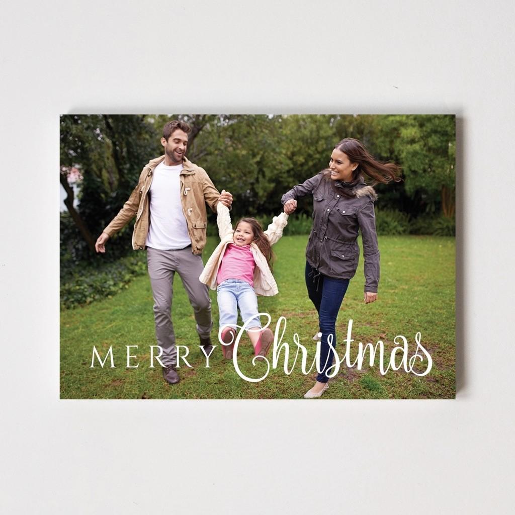 "Caligraphy Series ""Merry Christmas"" Card"