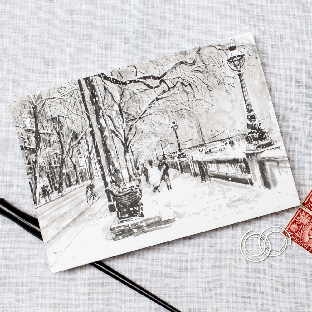 Royal Chelsea Hospital, Home of the Chelsea Pensioner - Christmas Card Personalised