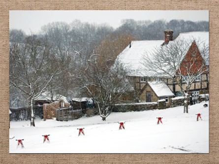 """Create your own Christmas Cards 7""""x5"""" - We print your photo"""