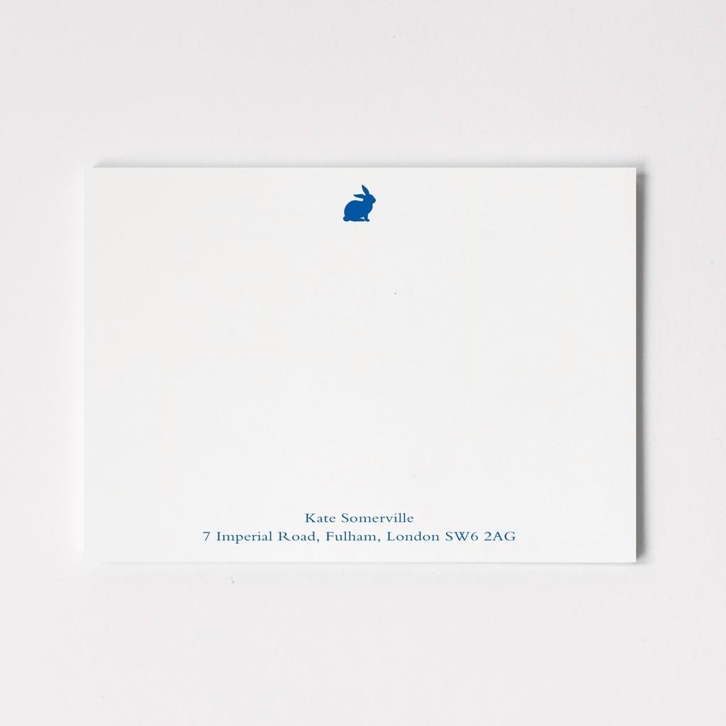 Woodland Motif Correspondence Cards