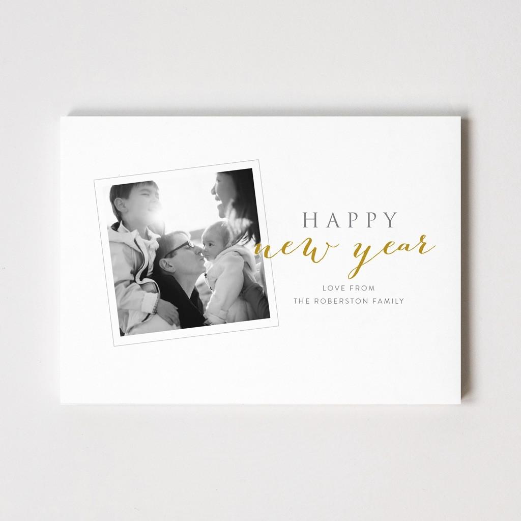 Xmas Snap Series 'Happy New Year' Photo Card