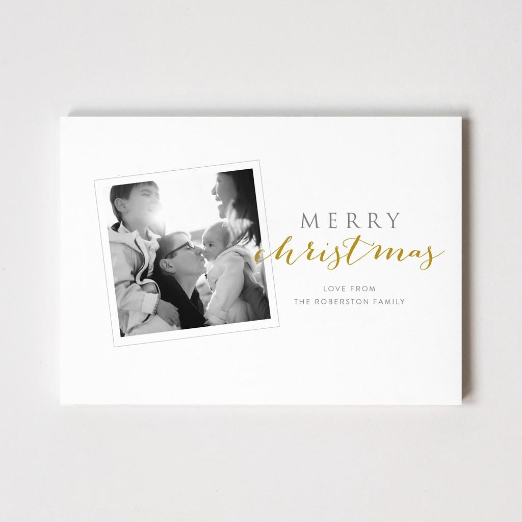 Xmas Snap Series 'Merry Christmas' Photo Card