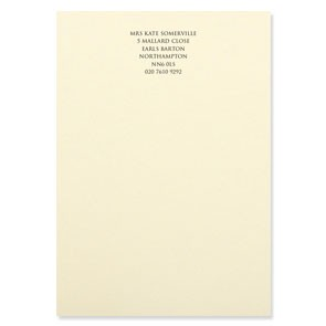 A5 Classic Writing Paper 120 gsm