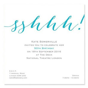 Flirty Surprise Invites