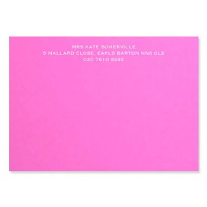 Luxury Engraved Correspondence Cards