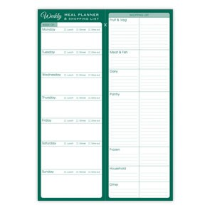 A Weekly Meal Planner & Shopping List