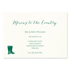Moving to the Country Cards