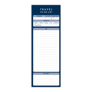 A Travel To Do List