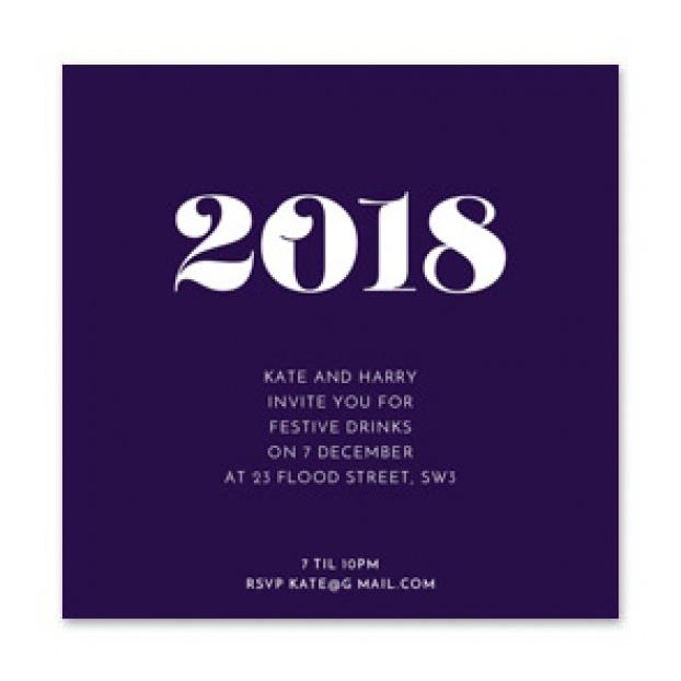2018 Invitation