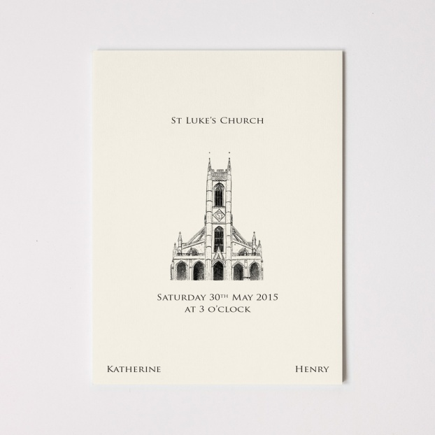 Order Of Service: A5 Size - 12 Pages