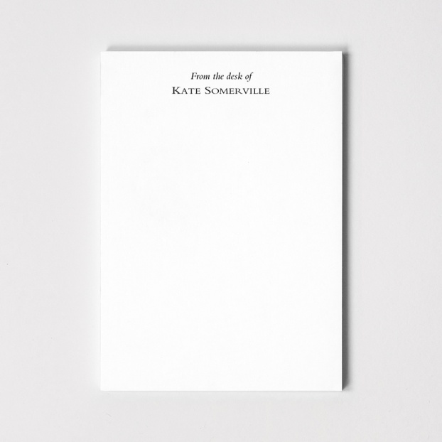 Personalised A6 Notepads - Set of 4