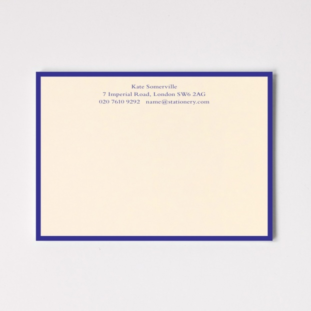 A6 Classic Border Correspondence Cards