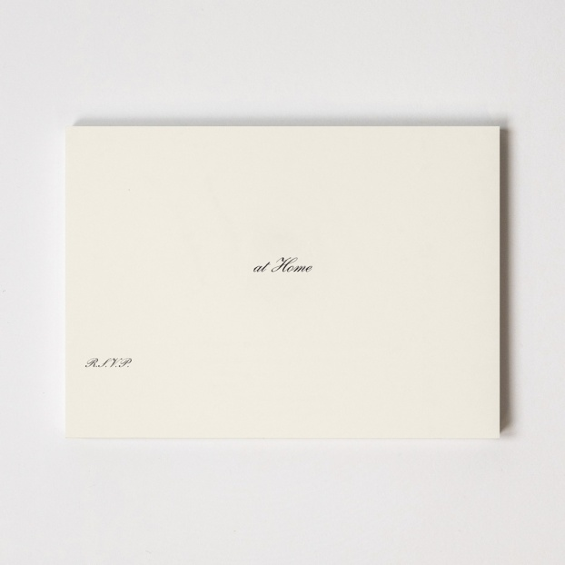 Engraved At Home Cards - Ready To Write