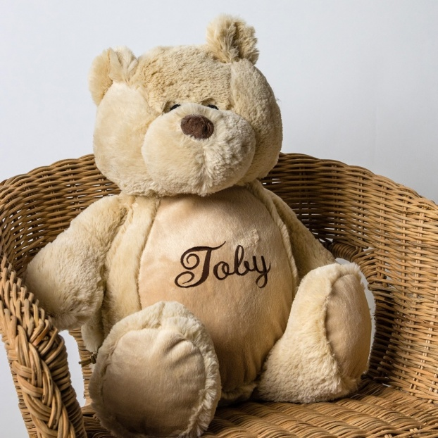 Personalised Soft Toy Bear