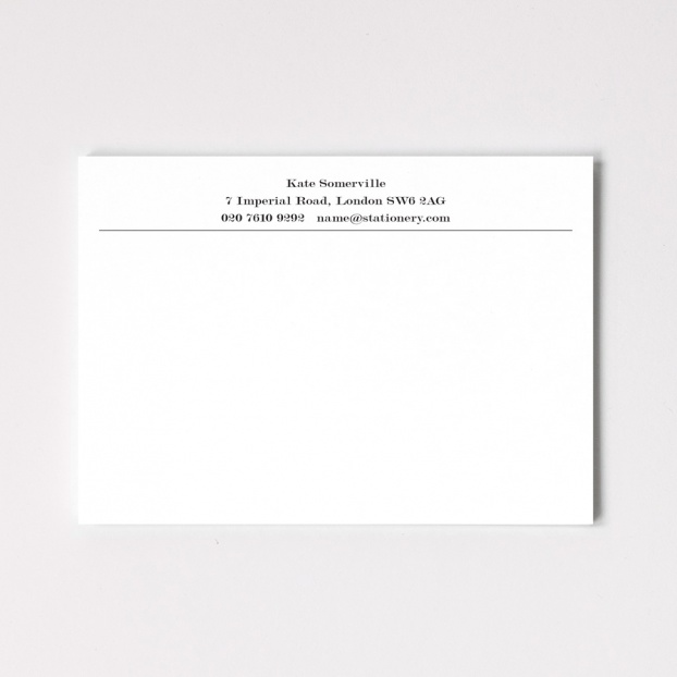 A6 Bloomsbury Correspondence Cards