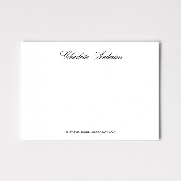 Calligraphy Correspondence Cards