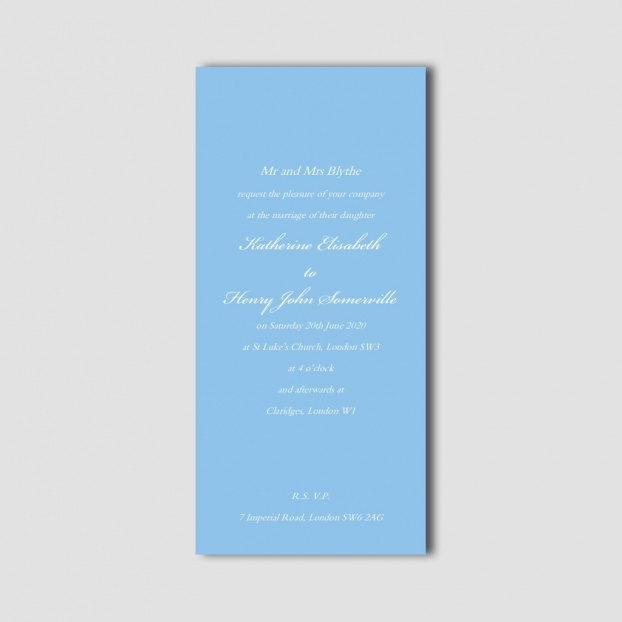 Clerkenwell Invitation