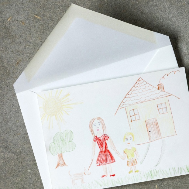 Your Child's Artwork Correspondence Cards