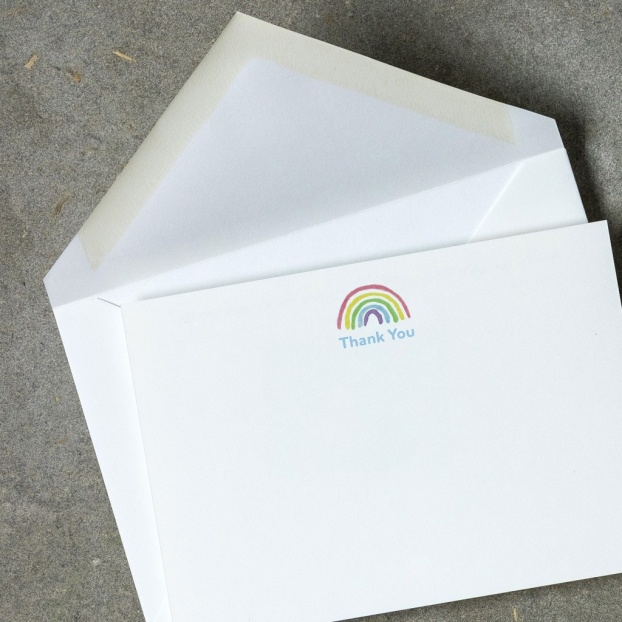 Rainbow Children's Postcards