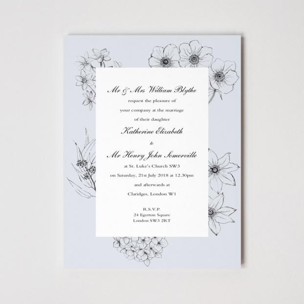 Cottage Garden Invitations