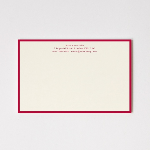 Large Classic Border Correspondence Cards