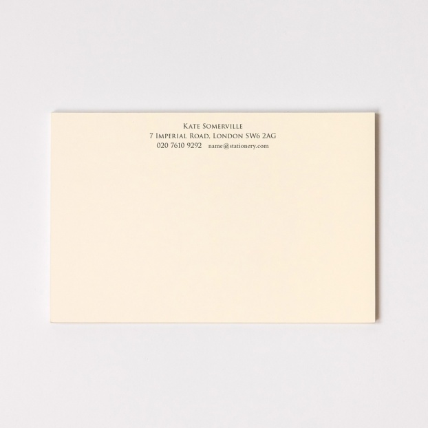 Large Classic Correspondence Cards