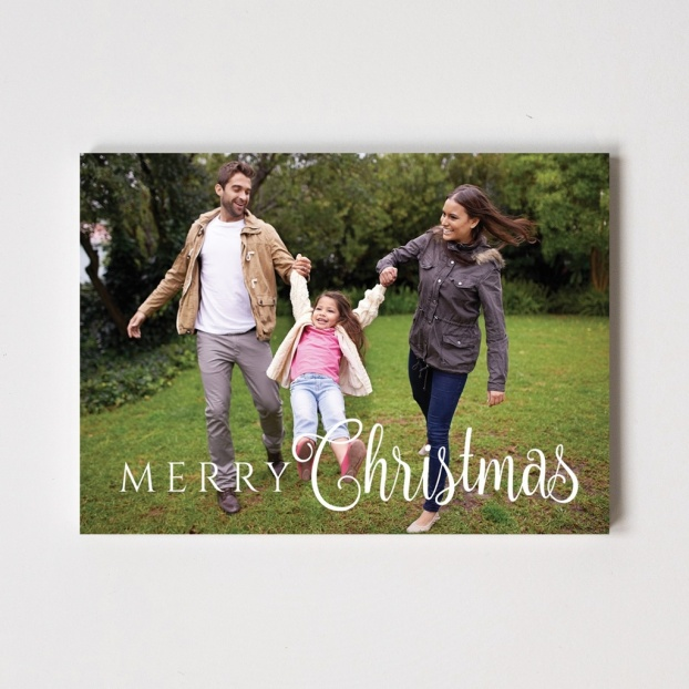 "Caligraphy Series ""Merry Christmas"" Card"