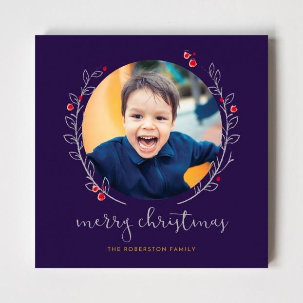 Winter Branch Series Christmas Card