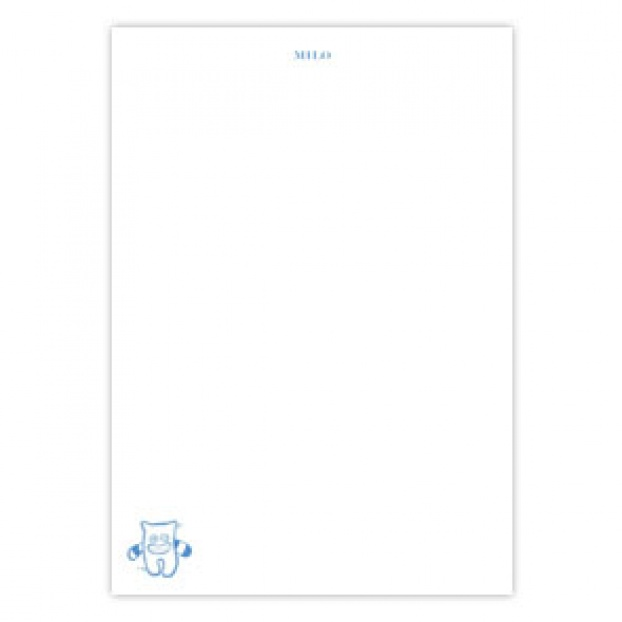 Children's Writing Paper with Motif