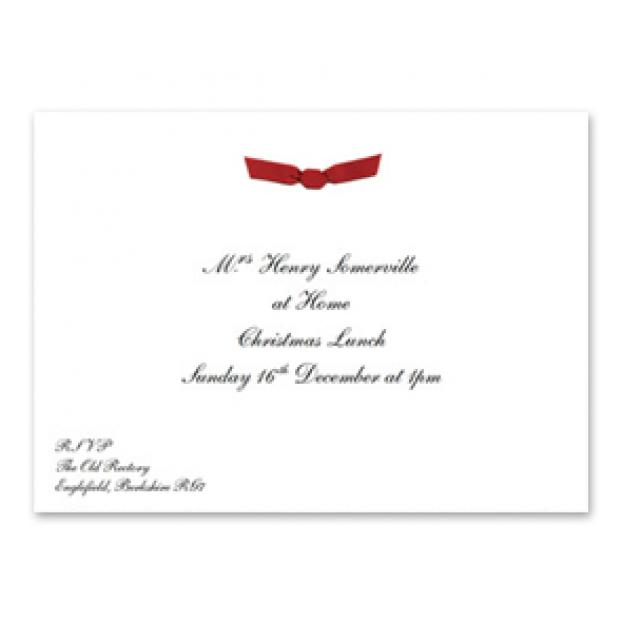 Ribbon at Home Invitation