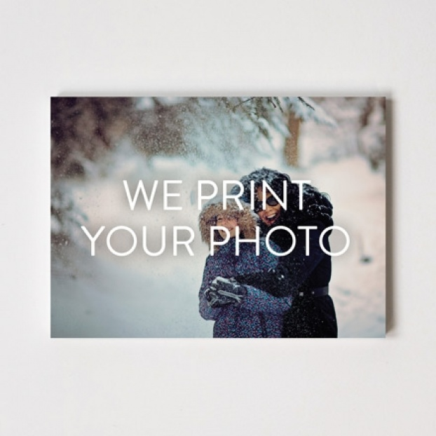 "Create your own Christmas Cards 7"" x 5"" - We print your photo"
