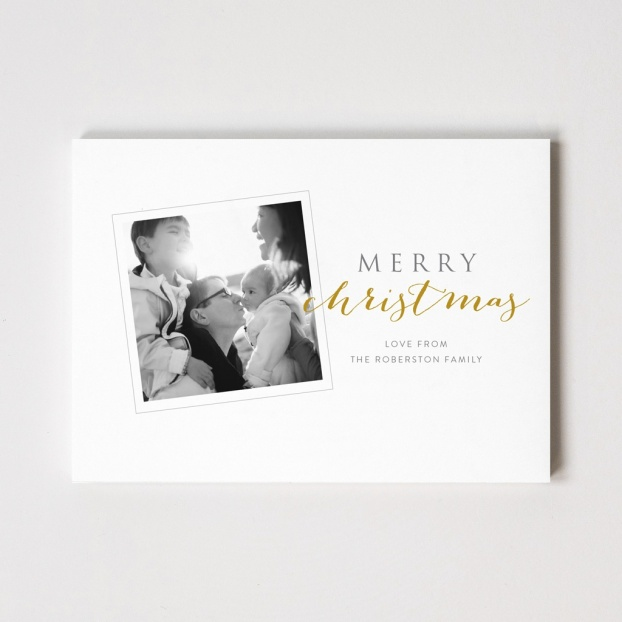 "Xmas Snap Series ""Merry Christmas"" Photo Card"